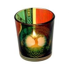 """Küünla klaas """"Elupuu"""" 6x5 cm, kuumakindel"""