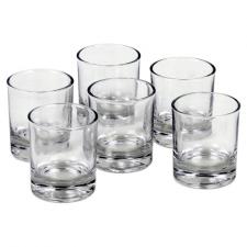 Klaas votiivküünaldele kuumakindel 6x5 cm