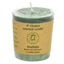 "Naturaalne lõhnaküünal ""Anahata chakra - armastus"" 4,5x4 cm"