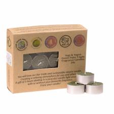 """Naturaalsest steariinist teeküünlad, """"Viirukipuu (Frankincense)"""", kmpl 24 tk a 4x2 cm"""