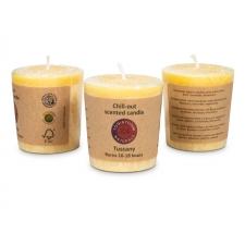"Naturaalne lõhnaküünal ""Toskaana"" palmivahast 4,5x4 cm, rosmariin, koriander"
