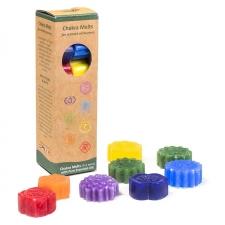 Aroomiteraapiline vaha 7 chakrat lõhnalampidesse